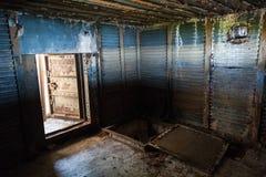 Abstract donker grungy industrieel binnenland Royalty-vrije Stock Fotografie