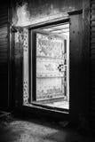 Abstract donker grungy industrieel binnenland Royalty-vrije Stock Foto