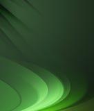 Abstract donkergroen lijnen vectorontwerp als achtergrond Stock Foto's