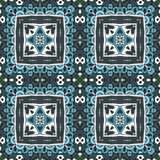Abstract doodle tiled seamless pattern Royalty Free Stock Image