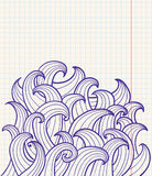 Abstract doodles Stock Images
