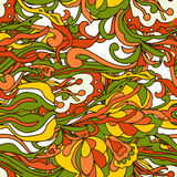 Abstract doodles pattern Royalty Free Stock Photos