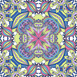 Abstract doodles pattern Stock Photo