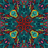 Abstract doodles pattern Stock Photography