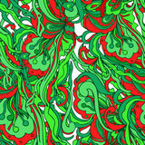 Abstract doodles pattern Stock Images