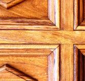 abstract door lanzarote  in the light Stock Photo