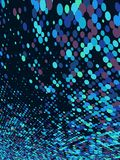 Abstract dot blue mosaic background. EPS 10 Royalty Free Stock Images