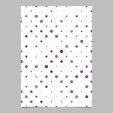 Abstract dot pattern brochure design - vector page background graphic. With dots Royalty Free Stock Images