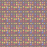 Abstract dot seamless pattern Royalty Free Stock Photos