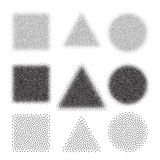Abstract Dot work Backgrounds Royalty Free Stock Photos