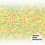 Abstract doted vector background. Royalty Free Stock Images