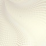 Abstract doted wavy background Stock Images