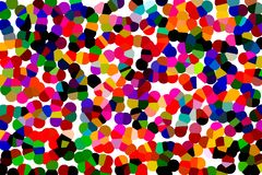 Abstract dots. Bright colorful abstract spotted background vector illustration