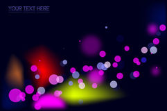 Abstract dots background Stock Photography