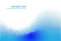 Abstract dots  background. Halftone. Vector illustration Royalty Free Stock Photo