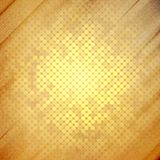 Abstract dots background, wooden design vector Royalty Free Stock Photo