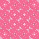 Abstract dots batik seamless pattern. Abstract pattern of indonesian batik Royalty Free Stock Photos