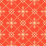 Abstract Dots Seamless Pattern Stock Afbeeldingen