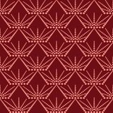 Abstract dots seamless pattern. Abstract pattern of indonesian batik Stock Photography
