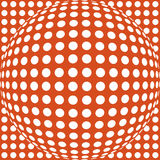 Abstract dotted background Stock Photo