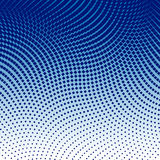 Abstract Dotted Background. Abstract halftone dotted blue white black background Stock Photography
