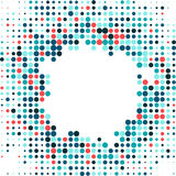 Abstract dotted background Royalty Free Stock Photography