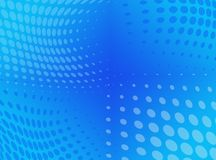Abstract dotted  background. Halftone effect.  Royalty Free Stock Photos