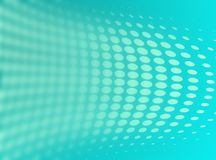 Abstract dotted  background. Halftone effect.  Royalty Free Stock Photography