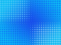Abstract dotted  background. Halftone effect.  Stock Photos