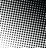 Abstract dotted  background halftone effect Stock Photography