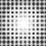 Abstract dotted background.Halftone effect. Vector texture. Modern background. Monochrome geometrical pattern. Strips of points. B Stock Image