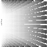Abstract dotted background. Halftone effect. Vector texture. Modern background.Monochrome geometrical pattern. Strips of points. B Stock Photos