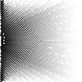 Abstract dotted background. Halftone effect. Vector texture. Modern background.Monochrome geometrical pattern. Strips of points. B. Abstract dotted background stock illustration