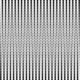 Abstract dotted background. Halftone effect. Vector texture. Modern background. Monochrome geometrical pattern. Strips of points. Stock Image