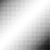 Abstract dotted background. Halftone effect. Vector texture. Modern background.Monochrome geometrical pattern. Strips of points. B Royalty Free Stock Image