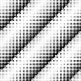 Abstract dotted background. Halftone effect. Vector texture. Modern background. Monochrome geometrical pattern. Strips of points.B Royalty Free Stock Image