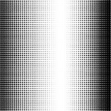Abstract dotted background. Halftone effect. Vector texture. Modern background. Monochrome geometrical pattern. Strips of points.B Stock Photos