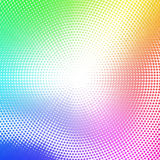 Abstract dotted background with rainbow colors Royalty Free Stock Photography