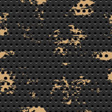 Abstract dotted black metal background Royalty Free Stock Photography
