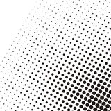 Abstract dotted black and white pattern. Circle halftone dots vector texture background Stock Photos