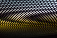 Abstract dotted black and white texture in metal material useful for background Royalty Free Stock Image