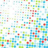 Abstract dotted colorful background Royalty Free Stock Photo