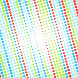 Abstract dotted colorful background Stock Photos