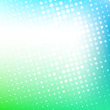 Abstract dotted colorful gradient background Royalty Free Stock Photography