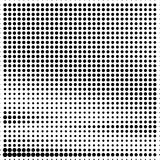 Abstract dotted halftone grungy texture. Vector design background. For pop art posters, comic strip, cartoon, web sites, business cards, postcards stock illustration