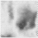 Abstract dotted halftone grungy texture. Vector design background. For pop art posters, comic strip, cartoon, web sites, business cards, postcards royalty free illustration