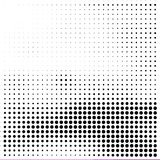 Abstract dotted halftone grungy texture. Vector design background. For pop art posters, comic strip, cartoon, web sites, business cards, postcards vector illustration