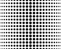 Abstract dotted pattern Stock Photography