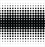 Abstract dotted vector background halftone effect Royalty Free Stock Image