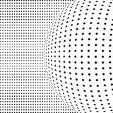 Abstract dotted vector Stock Photography
